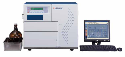 Tosoh HLC-8320GPC, gel permeation chromatography, size exclusion chromatography system